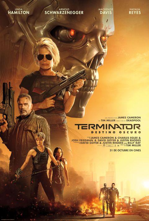 Cartel oficial de Terminator: Destino Oscuro