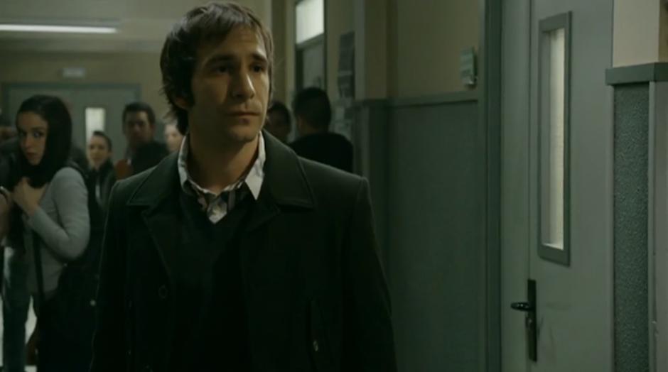 Daniel Ortiz como Salva en Luna, el misterio de Calenda