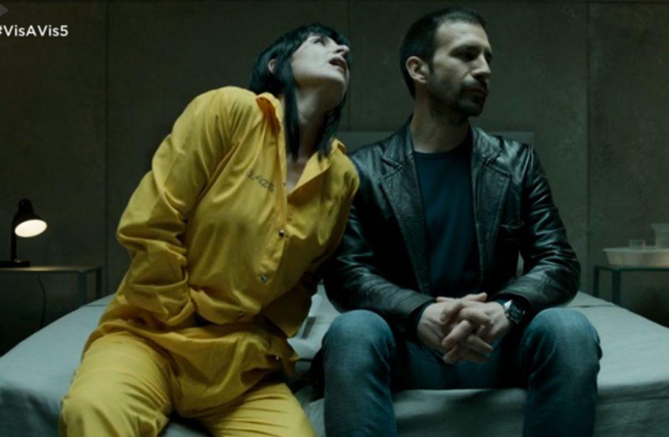 Daniel Ortiz y Najwa Nimri en el capítulo 5 de la T2 de Vis a Vis